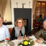 AWO Mitglieder und unser Steuerbüro mit Herrn Schubert, Frau Kaschefski und der Jubilarin Frau Masseli