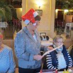 """AWO Ortsvereinsweihnachtsfeier in Ahrensdorf im Restaurant """"Zum Deutschen Haus"""" am 6. Dezember 2018 unter der Leitung von Frau Gisela Andree"""