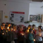 """Mit einem weihnachtlichem Programm kamen am 13.122018 die Kinder der Kita """"Ameisenburg"""" zu uns"""
