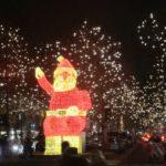 Impressionen von der Lichterfahrt durch Berlin am 20.12.2018 moderiert hatte Herr König