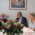 im Gespräch Frau Warczinski, Herr Saborowski, Frau Dzialas, Frau Schenk