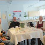 v. l. n. r.: weitere AWO Mitglieder Frau Jüttner, Herr Nicksch, Herr Bültermann, Frau Frase und Frau Nicksch
